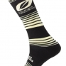 ONeal MX Stripes Black Yellow Boot Socks