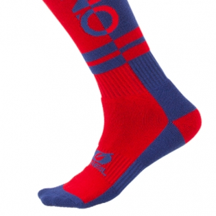 ONeal MX Twoface Blue Red Boot Socks Image 4