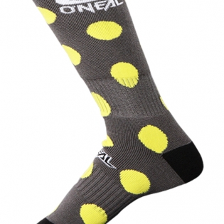 ONeal MX Candy Black Yellow Boot Socks Image 3