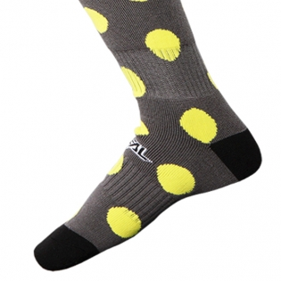 ONeal MX Candy Black Yellow Boot Socks Image 4