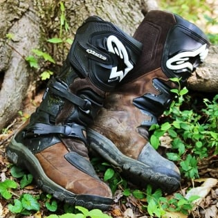 Alpinestars Corozal Oiled Brown Adventure Boots Image 3