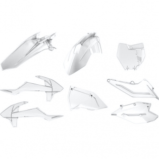 Polisport KTM Plastic Kit - Clear Transparent Image 3