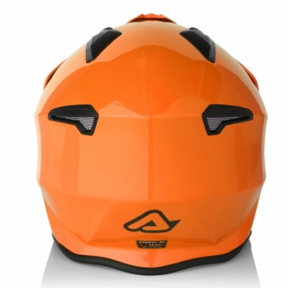 Acerbis Jet Aria Orange Trials Helmet Image 4