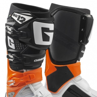 Gaerne SG12 Orange Black White Motocross Boots Image 2