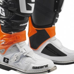 Gaerne SG12 Orange Black White Motocross Boots Image 4