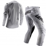 Leatt GPX 4.5 Lite Tech White Motocross Kit Combo