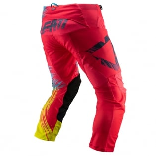 Leatt Kids GPX 2.5 Red Lime Motocross Pants Image 3
