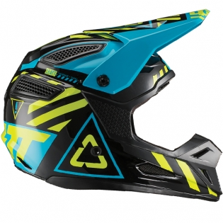 Leatt GPX 5.5 V19.1 Black Lime Helmet Image 3