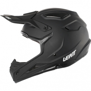 Leatt GPX 4.5 Satin Black Helmet Image 2