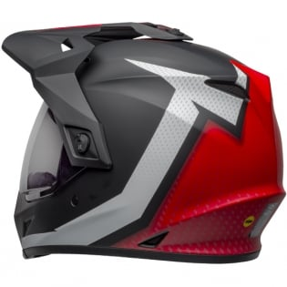 Bell MX9 MIPS Adventure Helmet - Switchback Matte Black Red White Image 2
