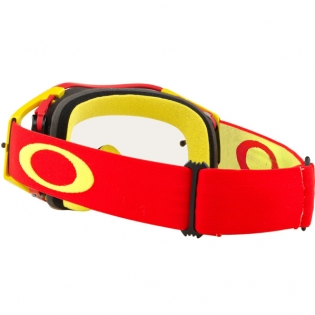 Oakley Airbrake MX Goggles - Red Yellow Clear Image 4
