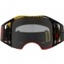 Oakley Airbrake MX Goggles - Frequency Red Yellow Dark Grey