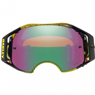 Oakley Airbrake MX Goggles - Frequency Green Yellow Prizm Jade Image 2