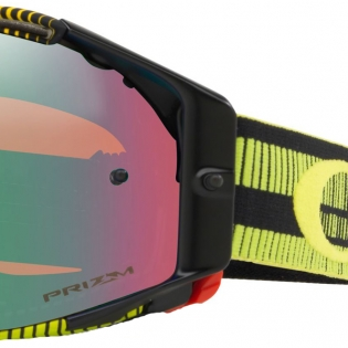 Oakley Airbrake MX Goggles - Frequency Green Yellow Prizm Jade Image 3