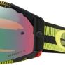Oakley Airbrake MX Goggles - Frequency Green Yellow Prizm Jade