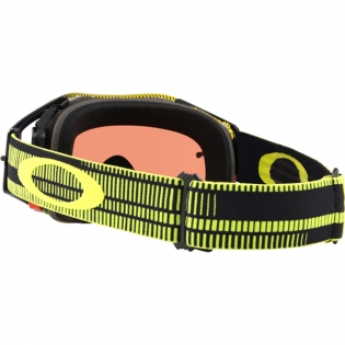 Oakley Airbrake MX Goggles - Frequency Green Yellow Prizm Jade Image 4