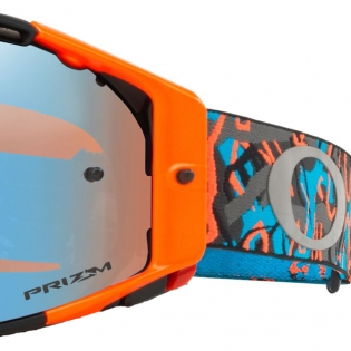 Oakley Airbrake MX Goggles - Camo Vine Night Orange Blue Prizm Image 3