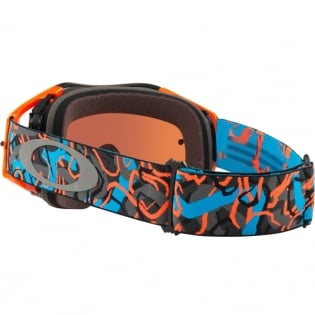Oakley Airbrake MX Goggles - Camo Vine Night Orange Blue Prizm Image 4