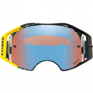 Oakley Airbrake MX Goggles - Equalizer Blue Yellow Prizm Image 2