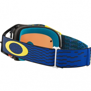 Oakley Airbrake MX Goggles - Equalizer Blue Yellow Prizm Image 4