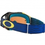 Oakley Airbrake MX Goggles - Equalizer Blue Yellow Prizm