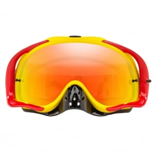 Oakley Crowbar Goggles - Camo Vine Red Yellow Fire Iridium Image 2
