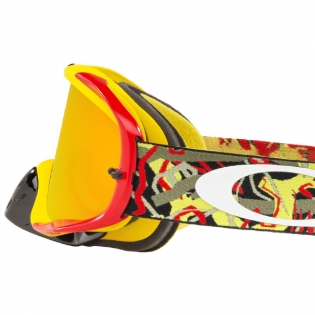 Oakley Crowbar Goggles - Camo Vine Red Yellow Fire Iridium Image 4