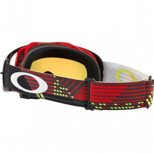 Oakley Crowbar Goggles - Circuit Red Yellow Fire Iridium Image 3
