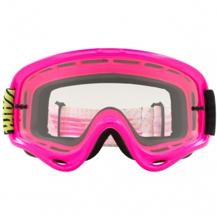 Oakley O Frame Goggles - Circuit Pink Green Image 2