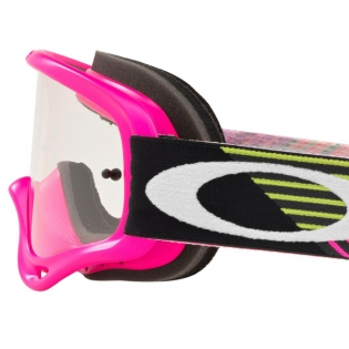 Oakley O Frame Goggles - Circuit Pink Green Image 4