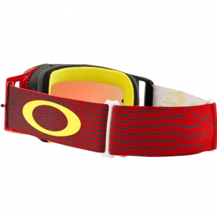 Oakley Front Line MX Goggles - Equaliser Red Yellow Prizm Iridium Image 3