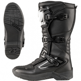 ONeal RSX Black Motocross Boots Image 2