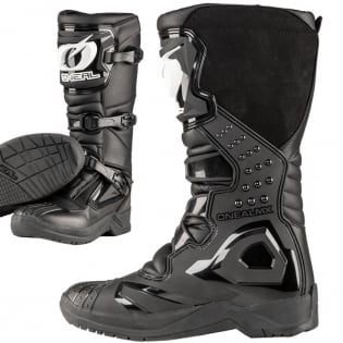 ONeal RSX Black Motocross Boots Image 4