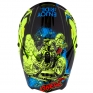 ONeal 3 Series Villian Neon Yellow Motocross Helmet