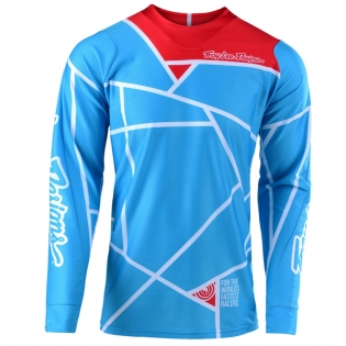 Troy Lee Designs SE Air Metric Ocean Jersey Image 4