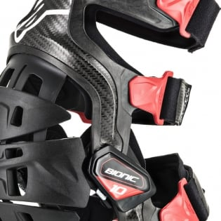 Alpinestars Bionic 10 Carbon Knee Braces - Pair Image 4