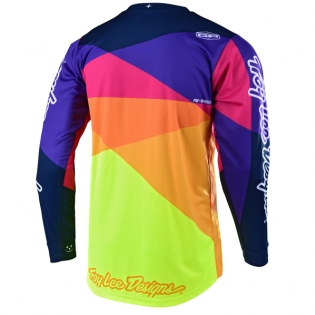 Troy Lee Designs Kids GP Jet Red Yellow Jersey Image 3