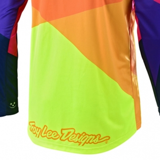 Troy Lee Designs Kids GP Jet Red Yellow Jersey Image 4