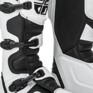 Fly Racing Maverik White MX Boots Image 3