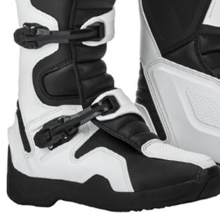 Fly Racing Maverik White MX Boots Image 4