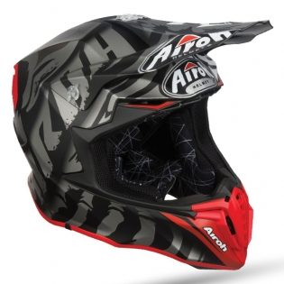 Airoh Twist Legend Black Matt Helmet Image 2