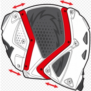 Sidi Crossfire 2 SRS Black White Motocross Boots Image 3