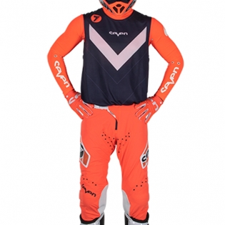 Seven MX Kids Zero Victory Coral Navy Kit Combo Image 2