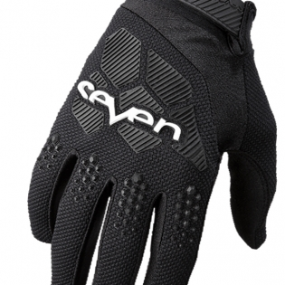Seven MX Rival Black Gloves Image 2