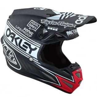 Troy Lee Designs SE4 Carbon Team Edition 2 Black Helmet Image 3