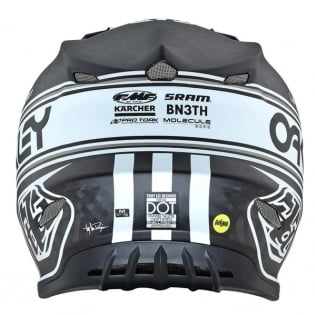 Troy Lee Designs SE4 Carbon Team Edition 2 Black Helmet Image 4
