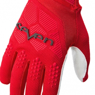 Seven MX Rival Red Gloves Image 2