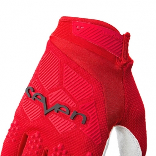 Seven MX Rival Red Gloves Image 3