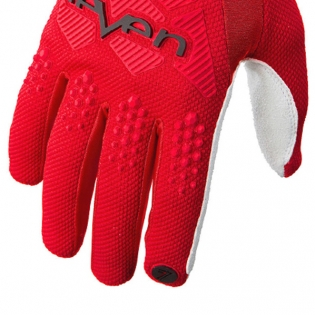 Seven MX Rival Red Gloves Image 4