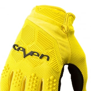 Seven MX Rival Yellow Gloves Image 2